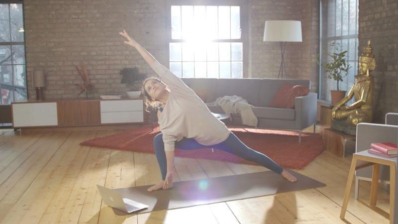 Online Yoga Studio - YogaMeHome Online Yoga Videos
